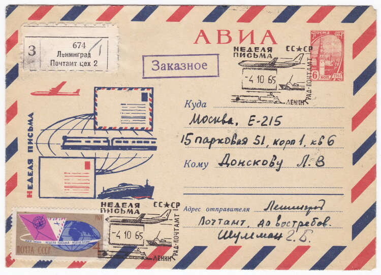 Открытка авиа почтой, делаем открытки